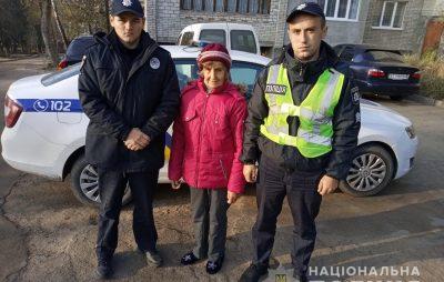 У Новому Роздолі поліцейські знайшли літню жінку, яка дві доби блукала у лісі