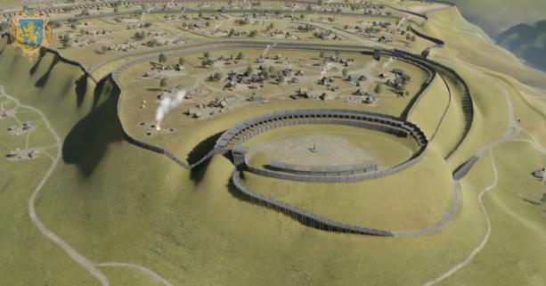Пліснеський археологічний комплекс відтепер можна переглянути у 3D