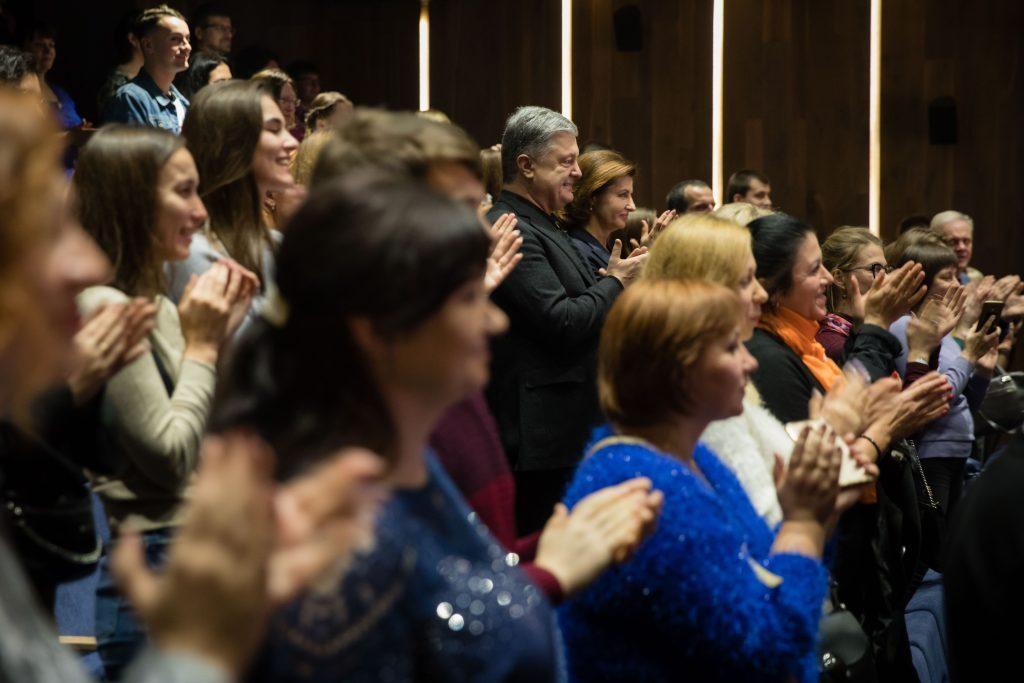 Петро Порошенко закликав відвідати мюзикл про Революцію Гідності