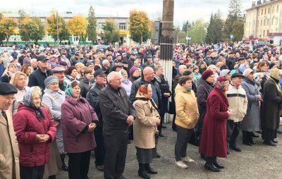 На Львівщині мешканці погрожують вдатись до радикальних дій через зрив опалювального сезону. Фото Четверта студія