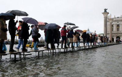 У Венеції через масштабну повінь оголосили надзвичайний стан