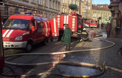 У Львові ледь не згоріла квартира