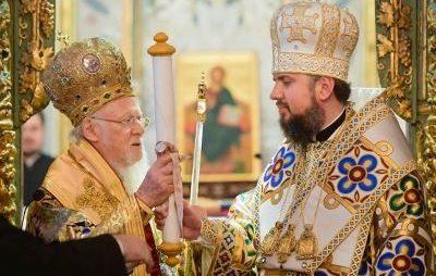 Епіфаній анонсував візит вселенського патріарха в Україну