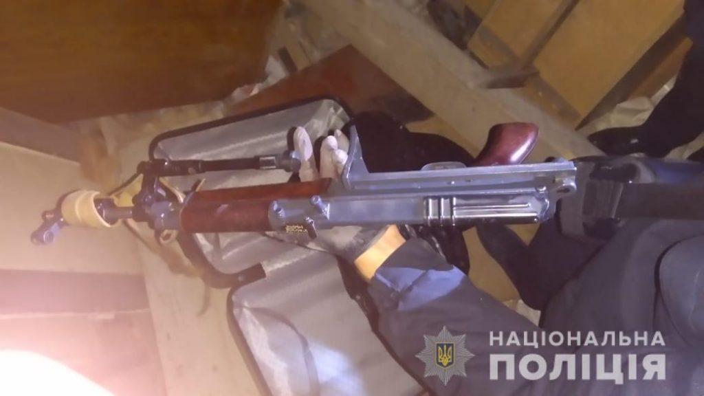За рік на Львівщині вилучили 161 одиницю зброї