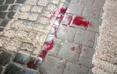 У Львові на автівка збила пішохода. Фото: Варта1.