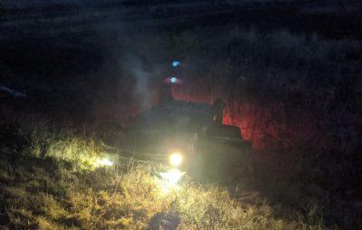 На Львівщині водій автомобіля заснув за кермом. Фото: Ігор Зінкевич.