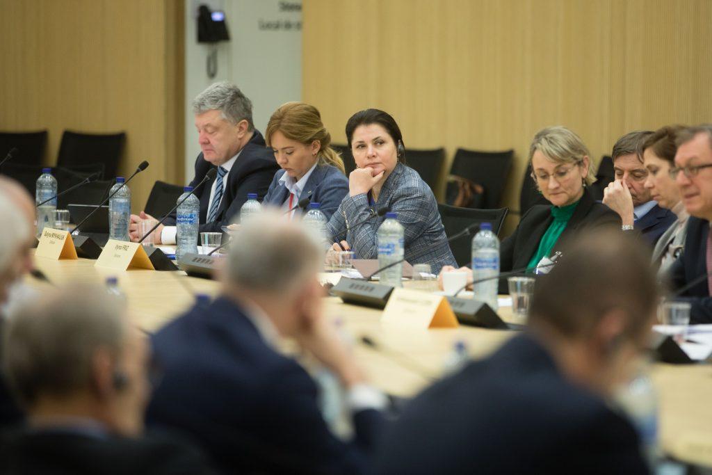 Порошенко взяв участь у засіданні Міжпарламентської Ради Україна-НАТО