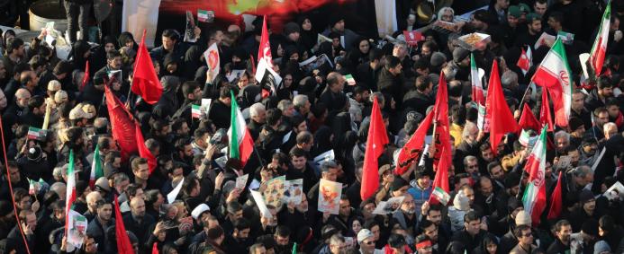Під час церемонії прощання з іранським генералом Сулеймані загинуло 35 людей