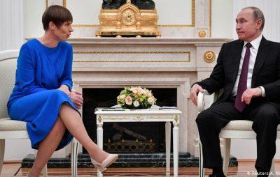 Президент Естонії відмовилася приймати від РФ подарункове вино з окупованого Криму