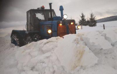 Як Львівщину засипало снігом. Фото: Петро Шкрамко.