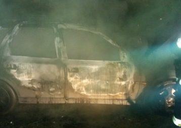 У Новому Роздолі згорів автомобіль