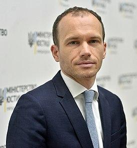 Міністр юстиції України Денис Малюська. Фото: відкриті джерела.