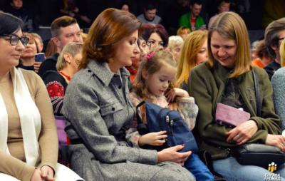 Марина Порошенко відвідала лекцію Марусі Звіробій
