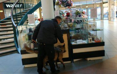 У Львові правоохоронці перевірять повідомлення про замінування вокзалу, аеропорту та торгових центрів. Фото: ГУ НП.