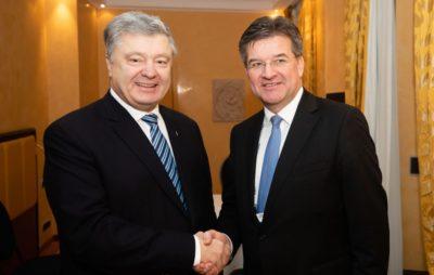 Порошенко зустрівся з Мирославом Лайчаком