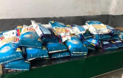 На Львівщині у рейсовому автобусі виявили 400 кг контрабандного прального порошку