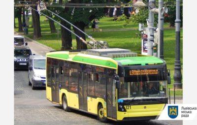 Відсьогодні тролейбуси №33 зупинятимуться на зупинці «Шевченківська РА». Фото: ЛМР.