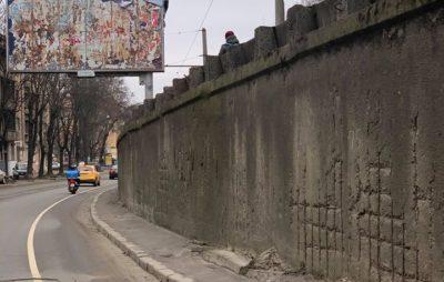 У Львові не розчищають велодоріжки. Фото: Yurii Chaban