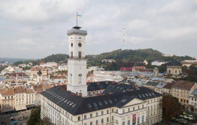 У Львові через коронавірус закривають вежу Ратуші. Фото: відкриті джерела.