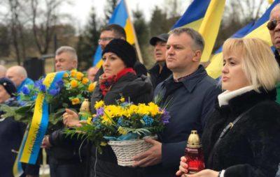 У Павлокомі вшанували пам'ять 366 вбитих українців. Фото: Олег Синютка.