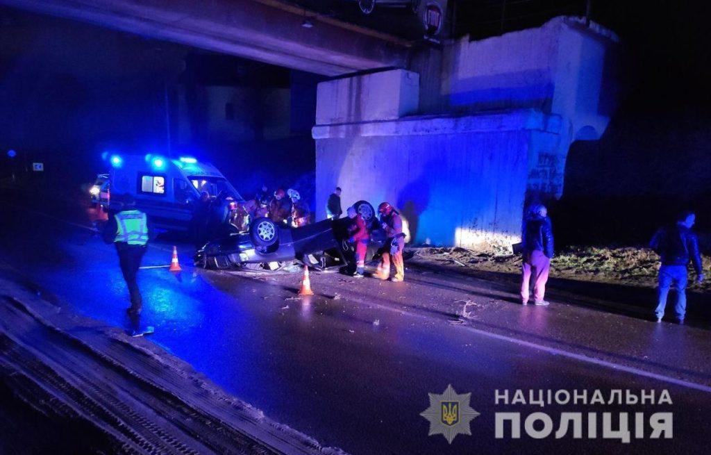 На Жовківщині під час ДТП загинув 18-річний водій