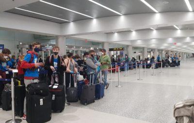 З Маямі спецрейсом евакуювали 259 українців. Фото: Посольство України в США.