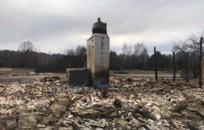 Як на Житомирщині вигоріли села. Фото: Денис Казанский.