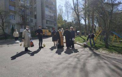 Як у Трускавці освячують паски . Світлина: Dmytrij Vasyljovych.