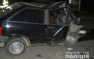 На Львівщині п'яний водій вчинив смертельну ДТП. Фото: ГУ НП.