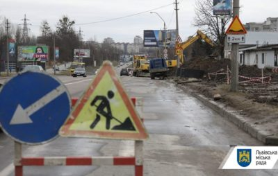 Як у Львові на Сихові облаштовують каналізацію. Фото: Львівська міська рада.