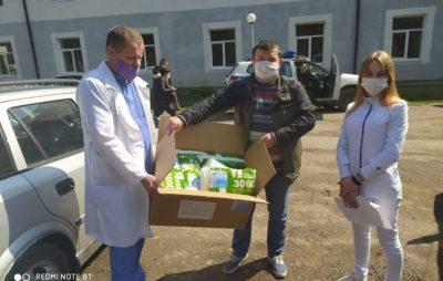 На Львівщині продовжують допомагати медикам. Фото: Іван Круц.