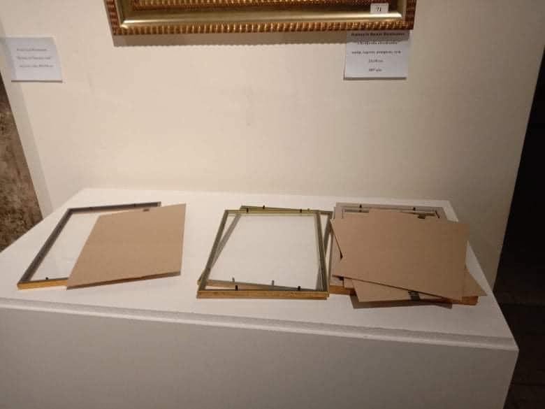 Документи на картини Порошенка в музеї Гончара зникли після штурму ДБР. Фото: Андрій Смолій.