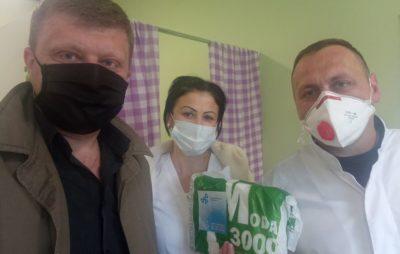 Як на Яворівщині допомагають медикам. Фото: Ігор Самардак.