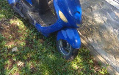 На Львівщині поліцейські повернули жінці викрадений скутер. Фото: ГУ НП.