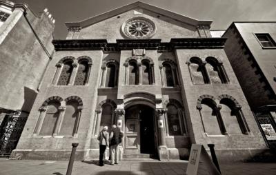 У Херсоні намагались підпалили синагогу. Фото відкриті джерела.