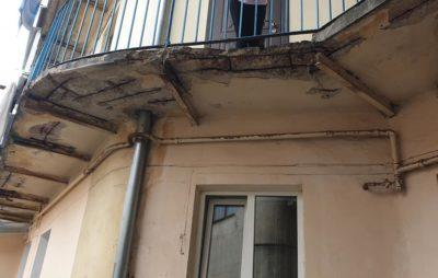 У Львові може завалитись будинок. Фото: Pavlo Pavlyshyn.