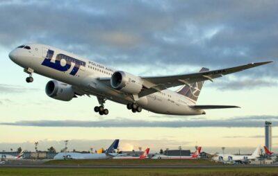 """Польська авіакомпанія """"LOT"""". Фото: відкриті джерела."""