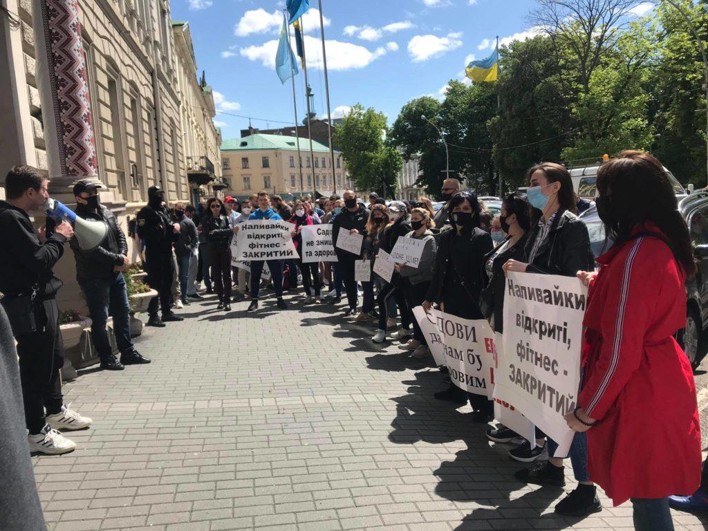 На Львівщині вимагають послабити карантин. Фото: Mykhailo Yavorskyi.