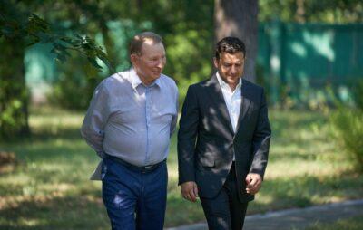 Кучма більше не представлятиме Україну у ТКГ. Фото: офіс презитента.