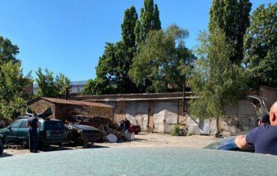 Фото: ситуація в Полтаві (dkr_npu)