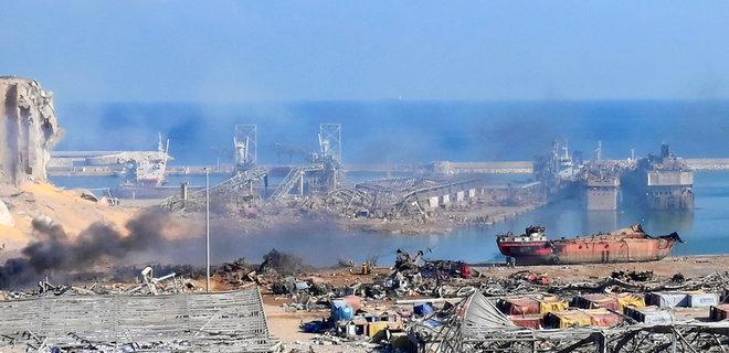 Порт в Бейруті після вибуху. Фото: ЕРА