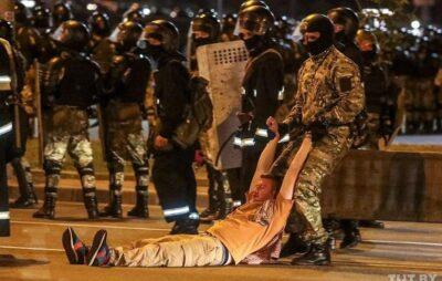 Протести в Білорусі. Фото: відкриті джерела.