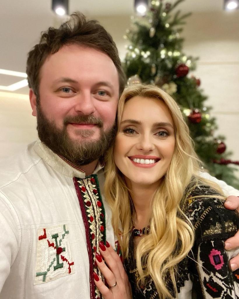 Ірина Федишин та Дзідзьо разом заколядували у Львові. Фото: instagram.com/irynafedyshyn
