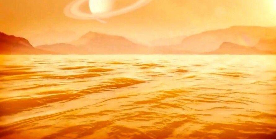 Зонд Cassini досліджує глибини Кракенського інопланетного моря Фото: NASA/John Glenn Research Center