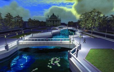 У Львівській Політехніці розробили проект розкриття штучної Полтви на проспекті Свободи