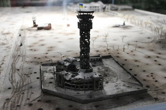 У Львові встановлять копію вежі Донецького аеропорту. Фото ілюстроване