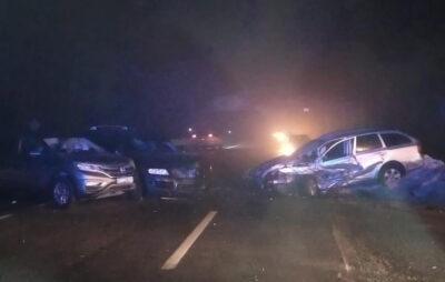 У Львівській області трапилась жахлива ДТП . Фото: Нацполіція.