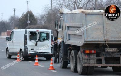 У Львові сталася потрійна ДТП. Фото: Варта1