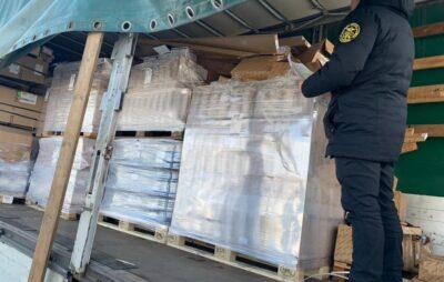 У Шегинях вилучили контрабанду на понад 1 мільйон гривень. Фото: Галицька митниця