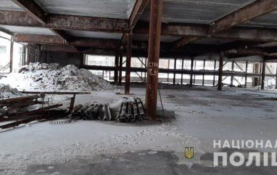У Львові внаслідок обвалу недобудованої будівлі загинув охоронець. Фото: Нацполіція